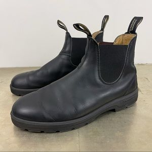 Blundstone 558 Classic Chelsea Boots Black Leather